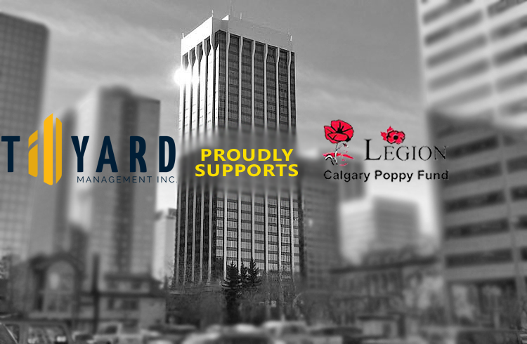 Tillyard Calgary Supports the Calgary Poppy Fund