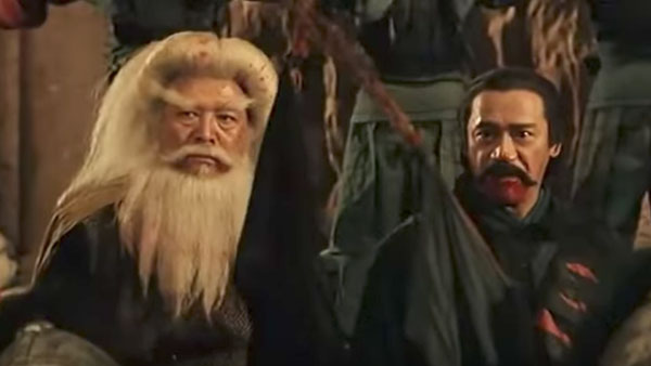 ดาบมังกรหยก ตอนประมุขพรรคมาร (Kung-Fu Cult Master: 1993) - อินทรีคิ้วขาว กับ ค้างคาวปีกเขียว