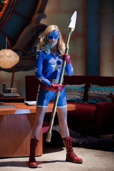 Smallville - Stargirl (รับบทโดย Britt Irvin)