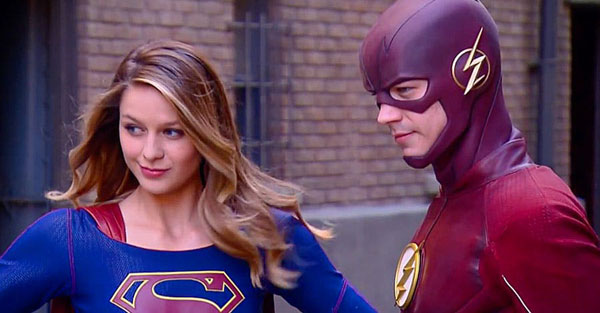 Supergirl meet the Flash First time