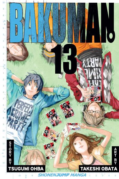 Bakuman: วัยซนคนการ์ตูน 13
