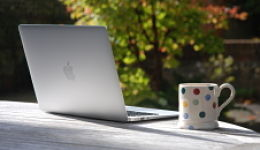 laptop and mug 260 X150