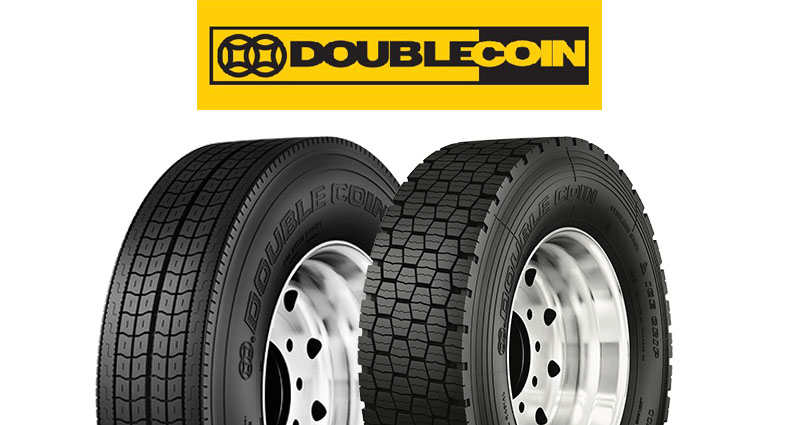 Double Coin Tires with logo