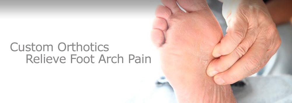 Custom Orthotics Reduce Foot Arch Pain