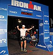 Brad Nelson Finishing The IronMan