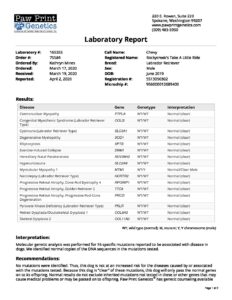 Chevy-PPG-Disease-Report