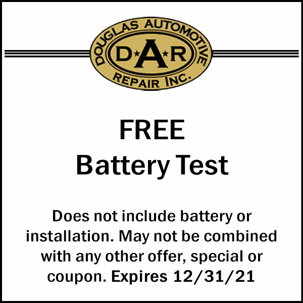 2021 Battery Test Coupon