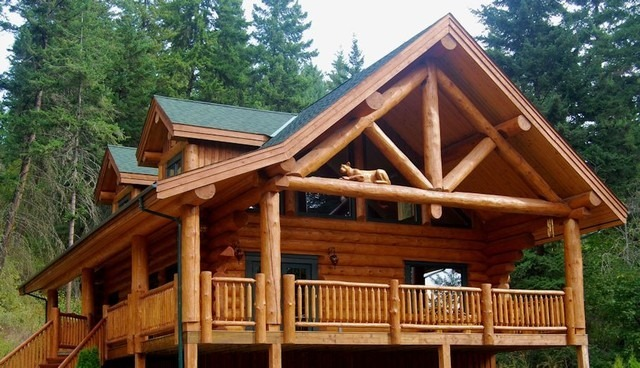 Rustic Log Cabin For Sale Polk County Wisconsin