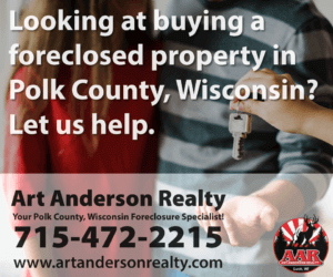 Art Anderson Realty-Foreclosures in Polk County, Wisconsin listings blog