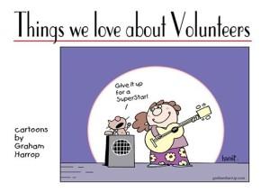 Volunteers make our world go round!