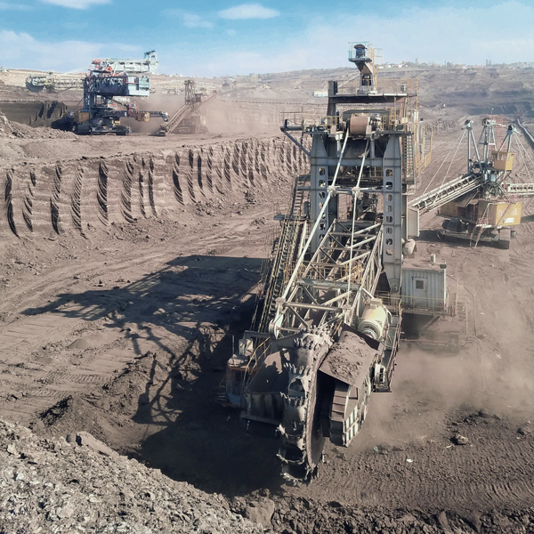 maradyne fluid power who we serve | industries served | mining and aggregate