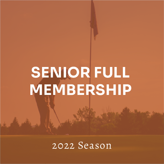 Senior Full Membership - 2022