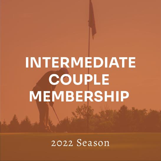 Intermediate (Age 23-39) Full Couple Membership - 2022