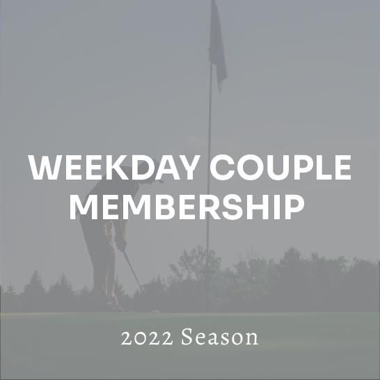 Weekday Couple Membership - 2022