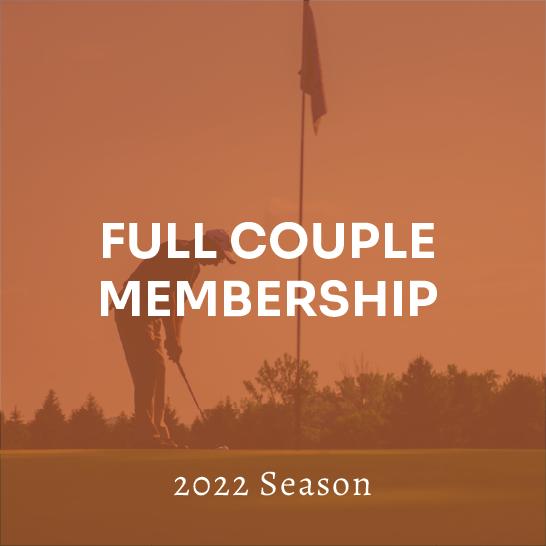 Full Couple Membership - 2022