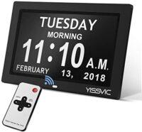 Day clock 8 inch
