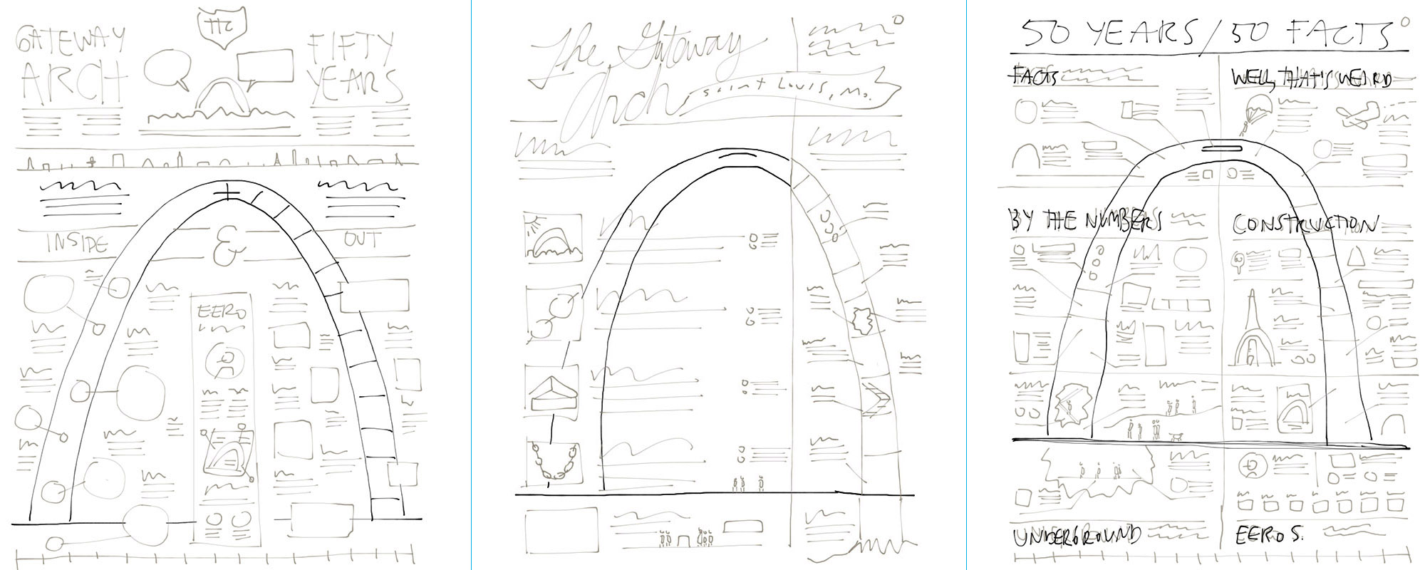 arch sketches