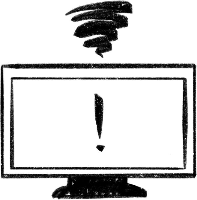 failing TV