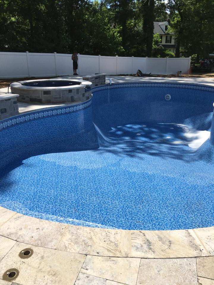Filling Pool up