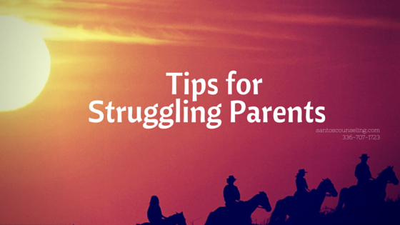 Read more about the article Tips For Struggling Parents | Greensboro Counseling Making Awesome Parents