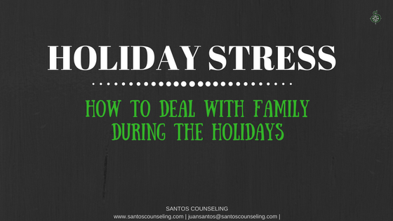 You are currently viewing Getting Along With Family During The Holidays