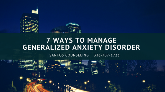 Read more about the article 7 Ways To Manage Generalized Anxiety Disorder