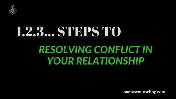 You are currently viewing 3 Steps To Resolving Conflict In Relationships