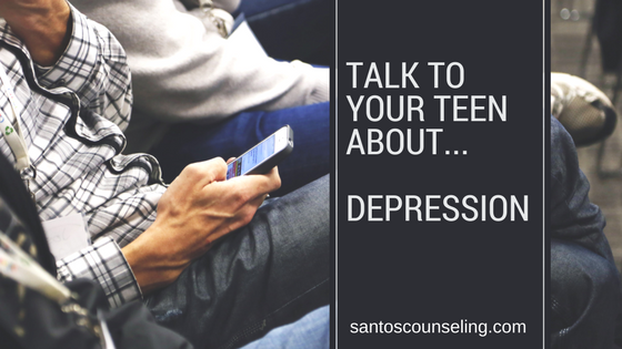 You are currently viewing How To Talk To Your Teen About Depression