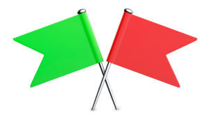 Read more about the article Red and Green Flags In Relationships