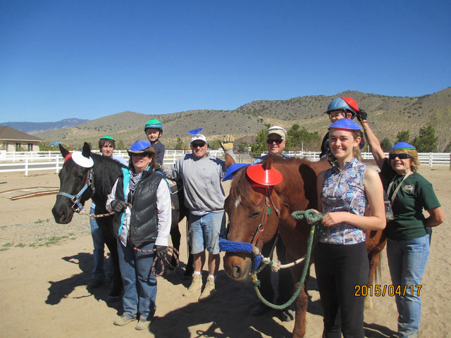 kids and horses team