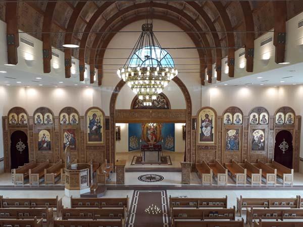 Coptic Cathedral at Stevenage
