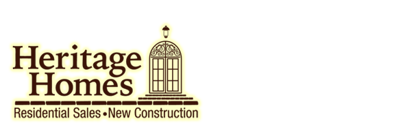 Heritage Homes residential sales and new construction logo