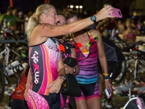 Making memories at Kerrville Tri with your relay team members