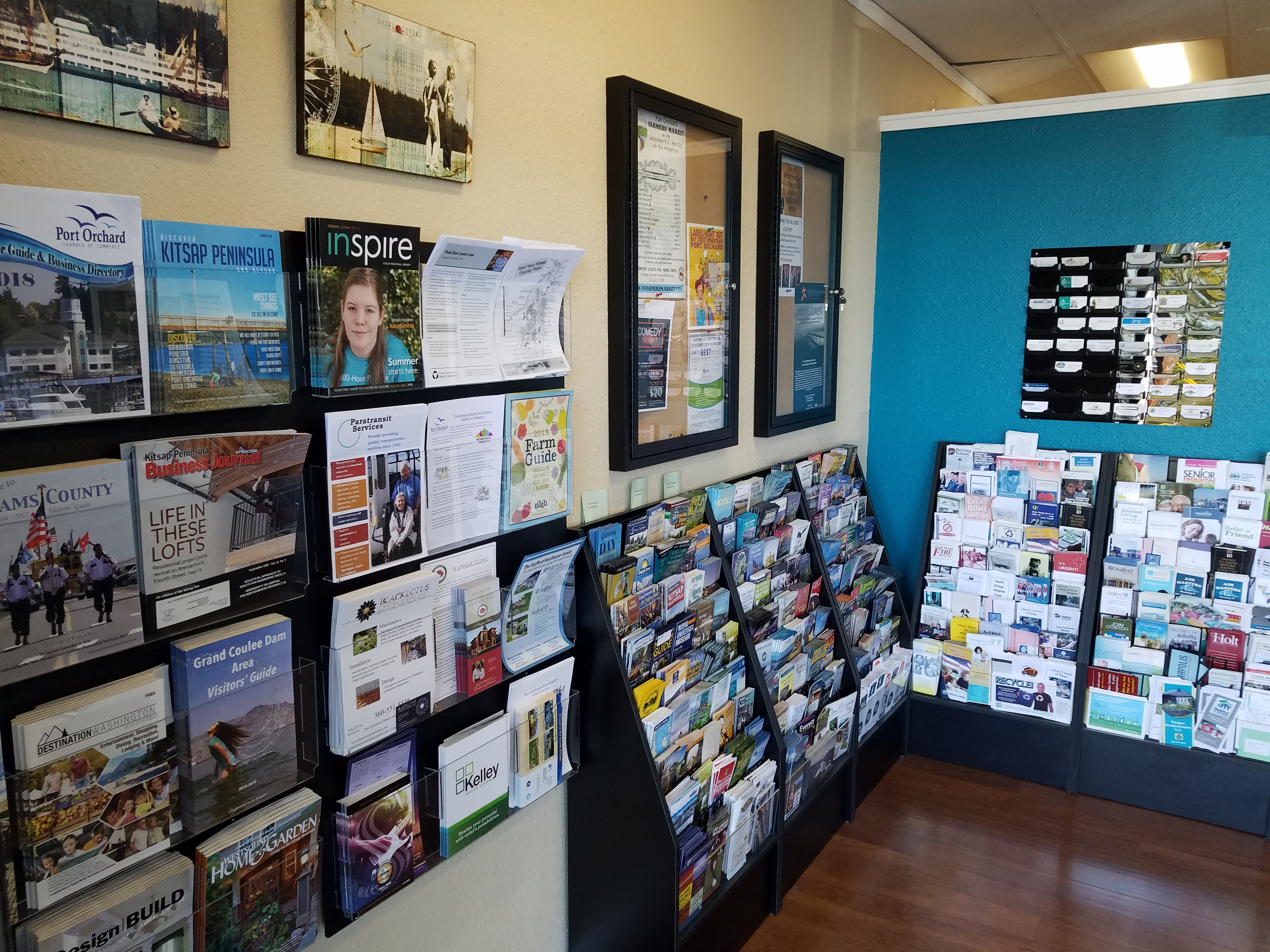 Chamber Office Information Distribution