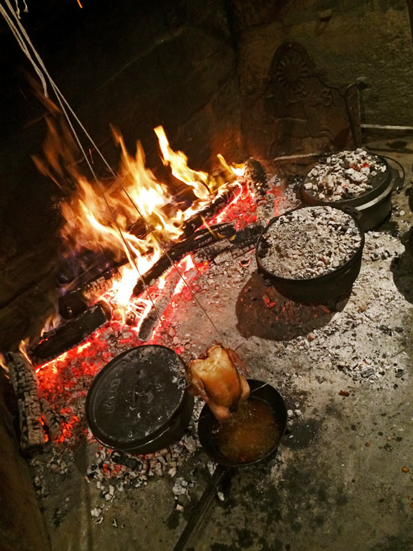 Using all the Dutch ovens