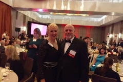 About to take our seats for Edgars 2017