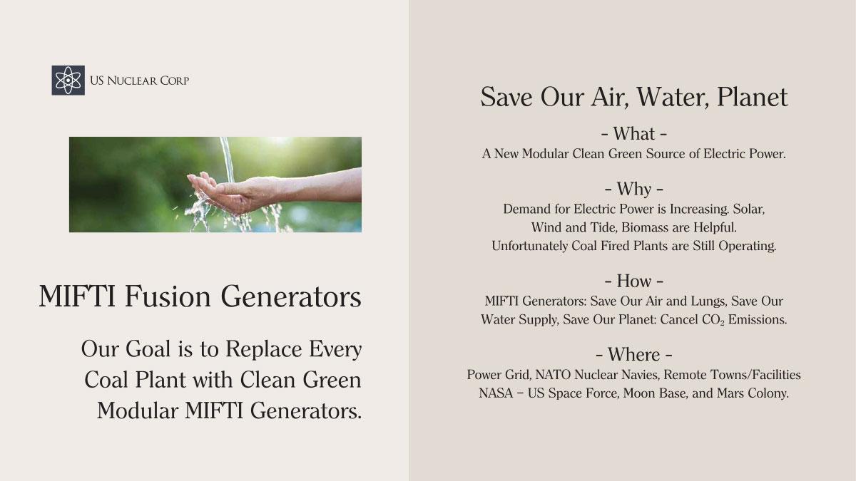 MIFTI Fusion Generators