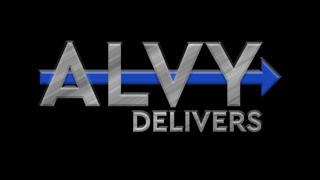 Alvy Logo black