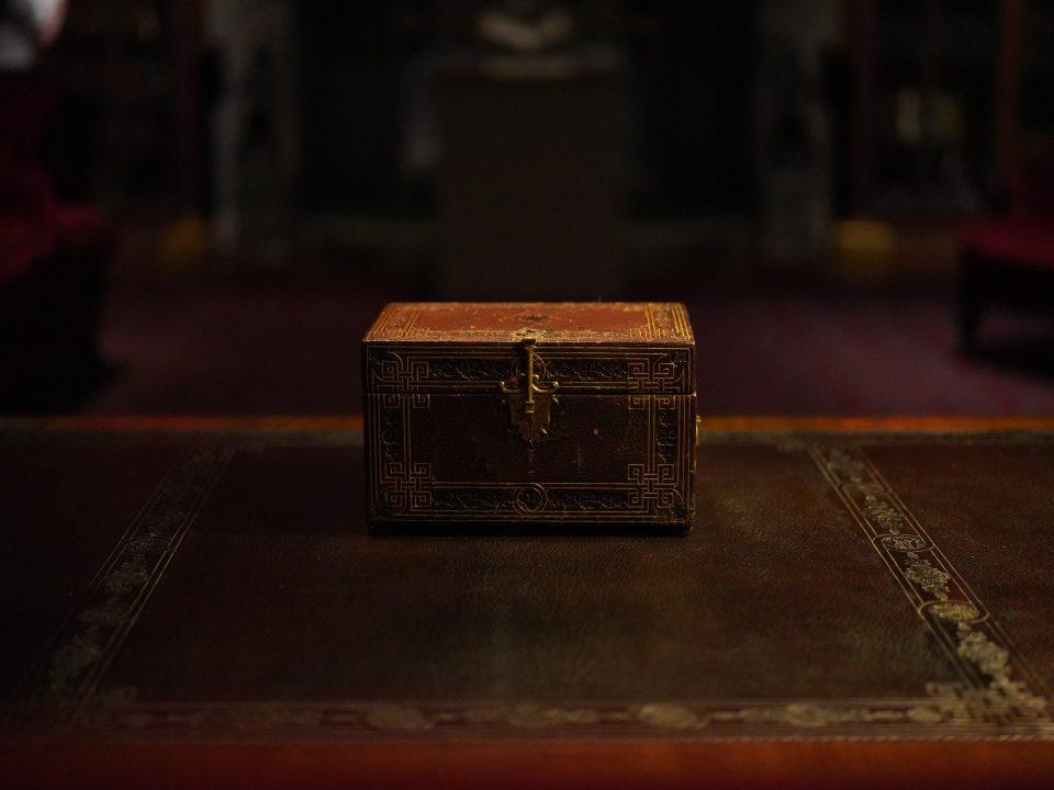 brown wooden box