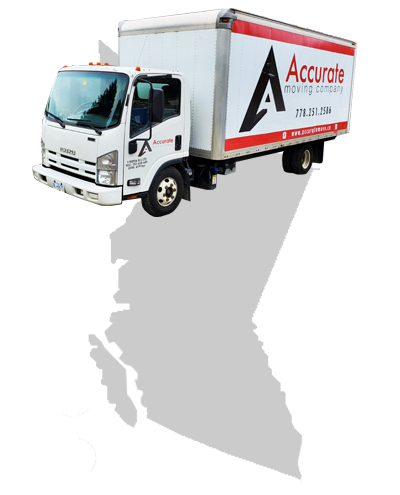 Accurate Moving Company Logo