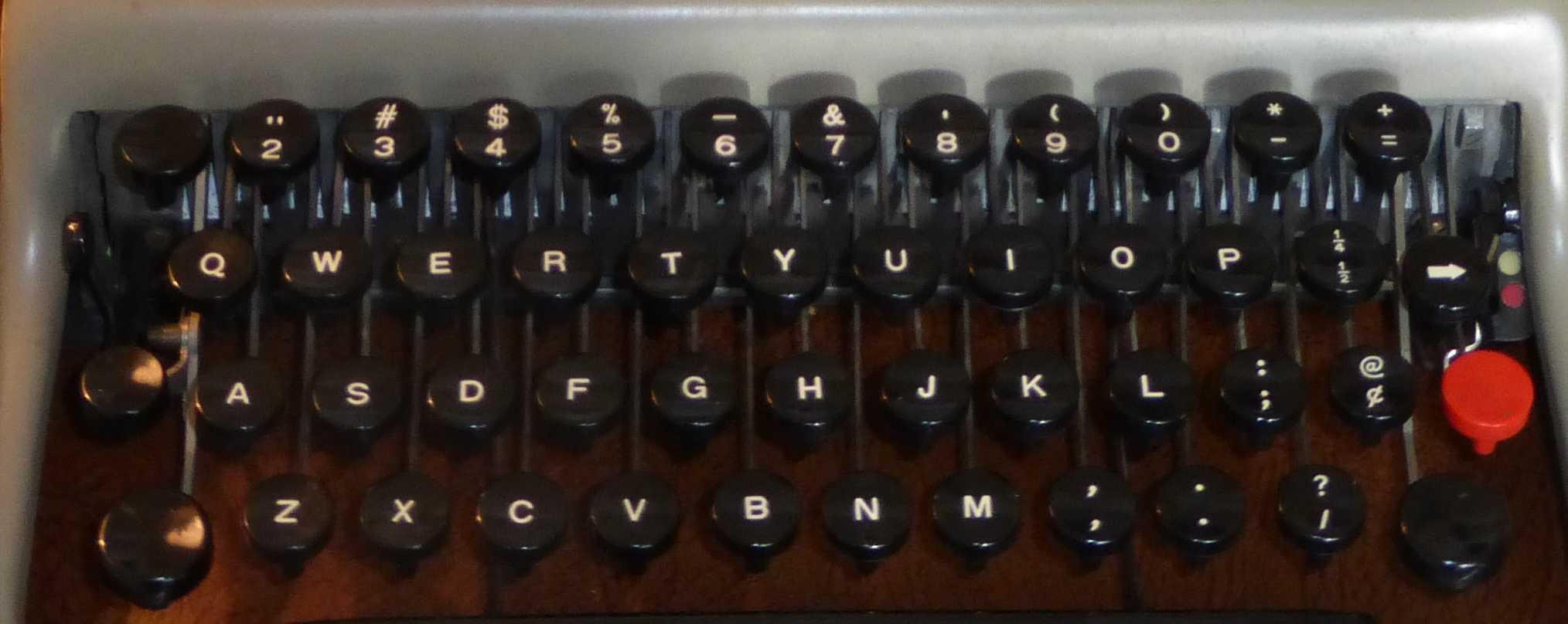 Typewriters center stage Writers Block video
