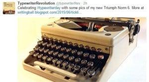 TypewriterRevTweetTypewriterDay06232015
