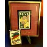 framedLove45centStamps&Stories1988