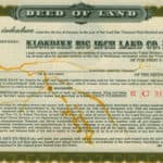 Read more about the article Yukon Gold Rush Klondike Big Inch Land Letters
