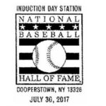 Read more about the article Pictorial Postmark National Baseball Hall of Fame Induction Day 2017