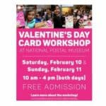 Read more about the article National Postal Museum Valentines Day Card Workshop 2018