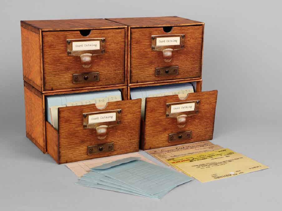 Card Catalog Stationery