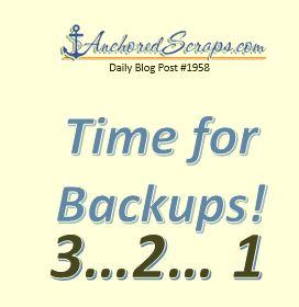 Time for backups