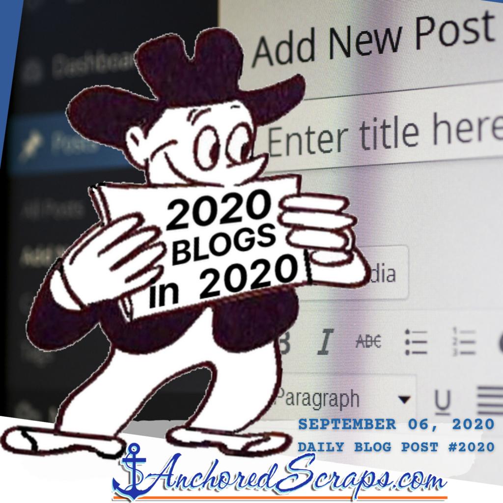 2020 in 2020 Milestones brings big news to the blog_AnchoredScraps #2020