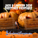 Read more about the article JackOLantern 2020 Greetings Printable